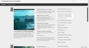 Fragmentos nómadas blog de Carlos Magro