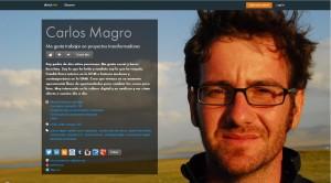 Perfil de Carlos Magro en About.me