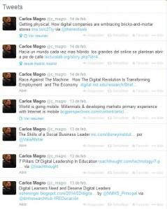 Tweets de Carlos Magro